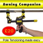 Awning Pole Tensioner - Awning Companion