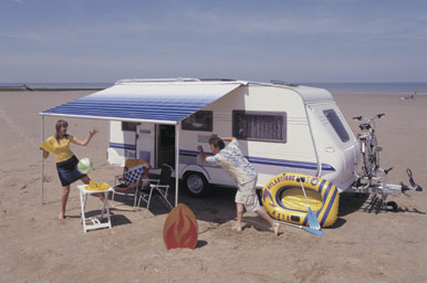 Omnistor Caravan Style - pull out awning